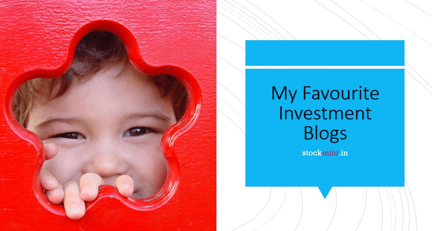 Favorite investment blogs