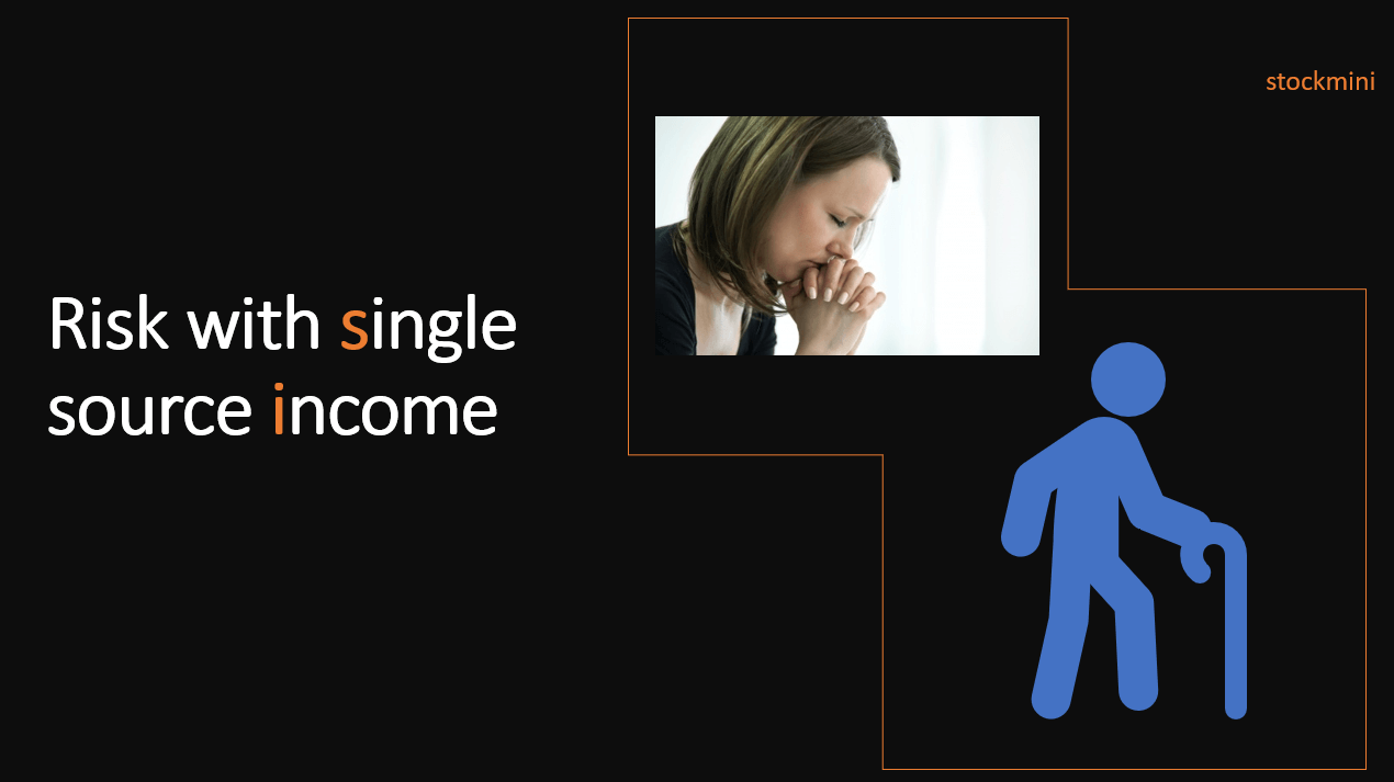 Risk with single source income