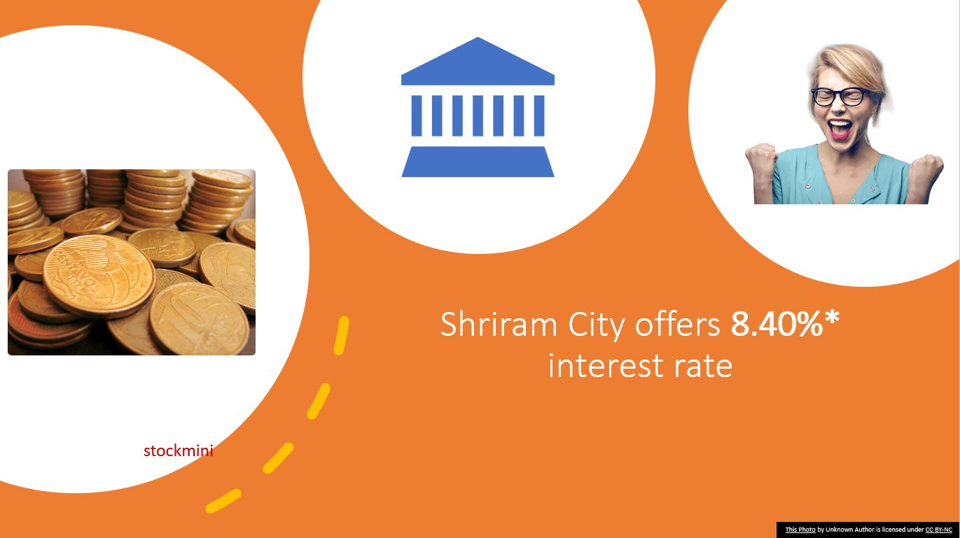 Shriram City interest rate