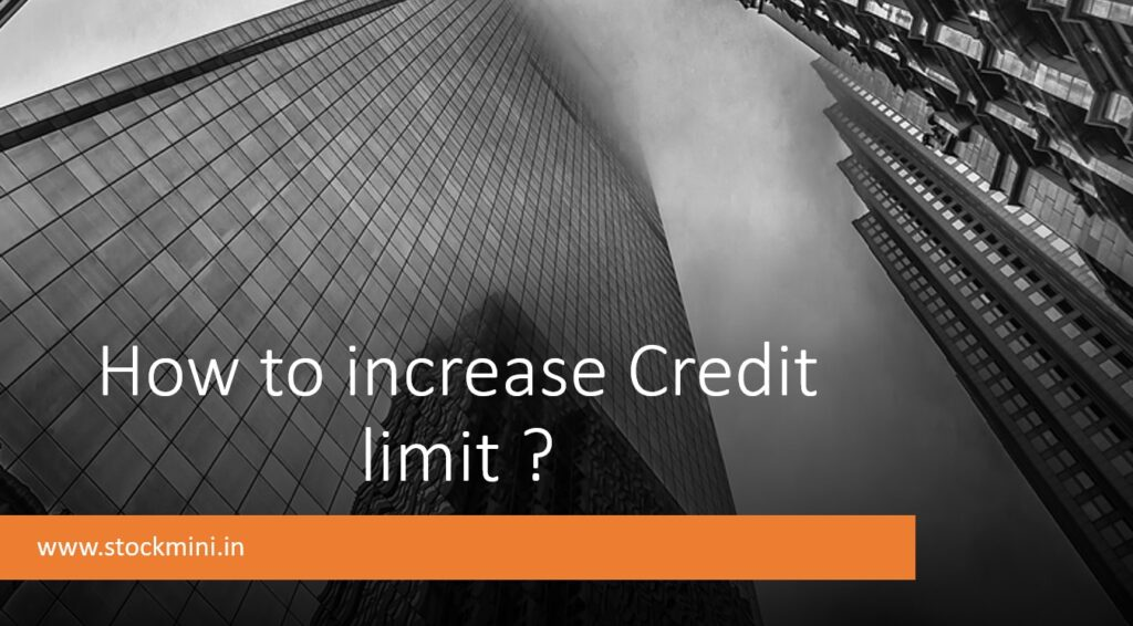 Credit limit increase charges