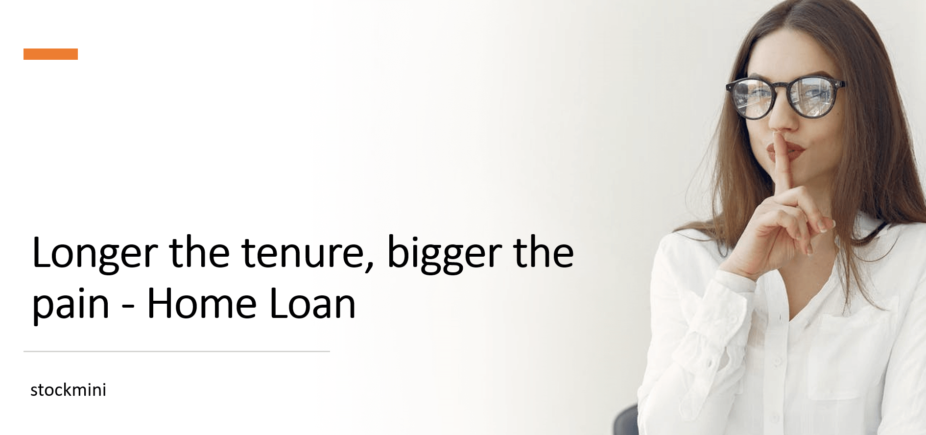 Impact on the interest cost based on your loan tenure