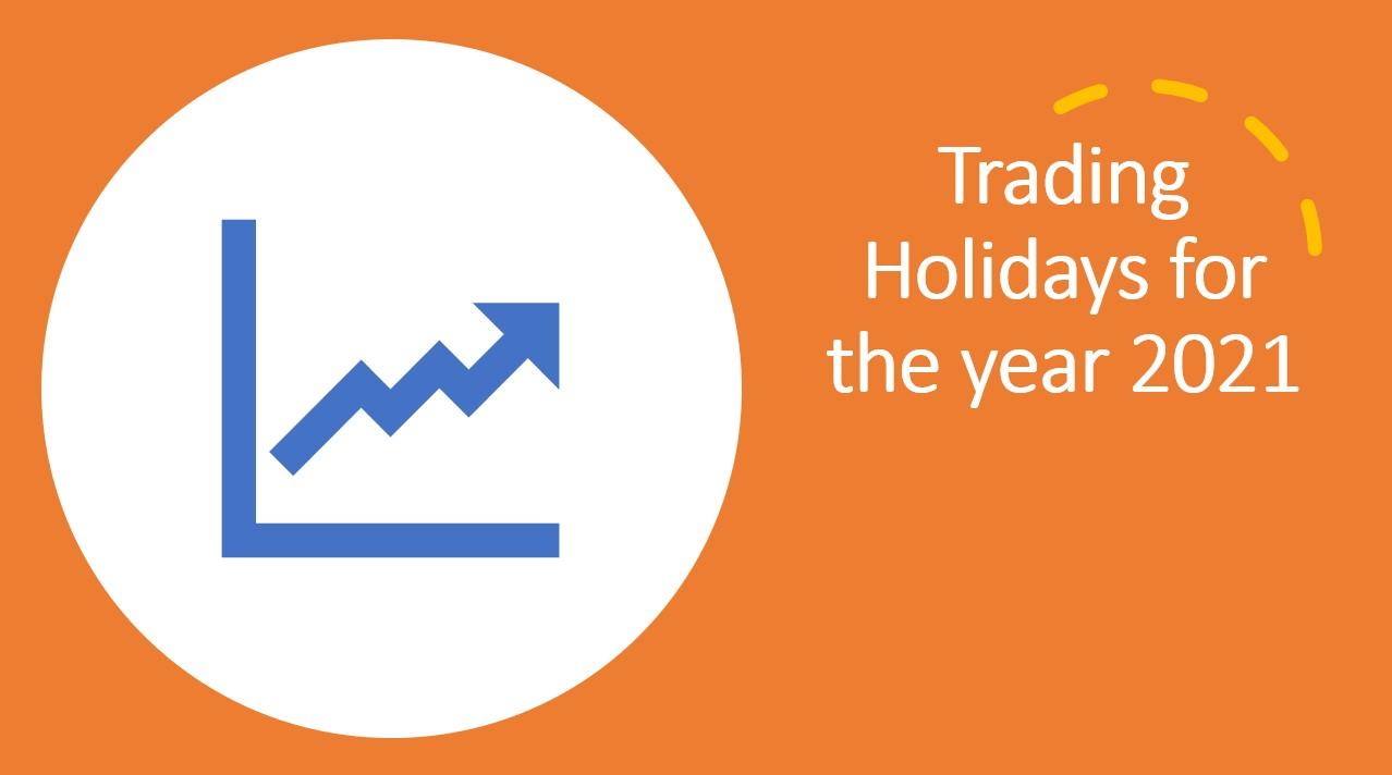 NSE trading holidays 2021